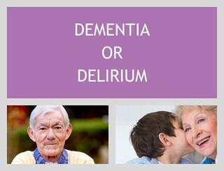 Dementia and Hospital Delirium