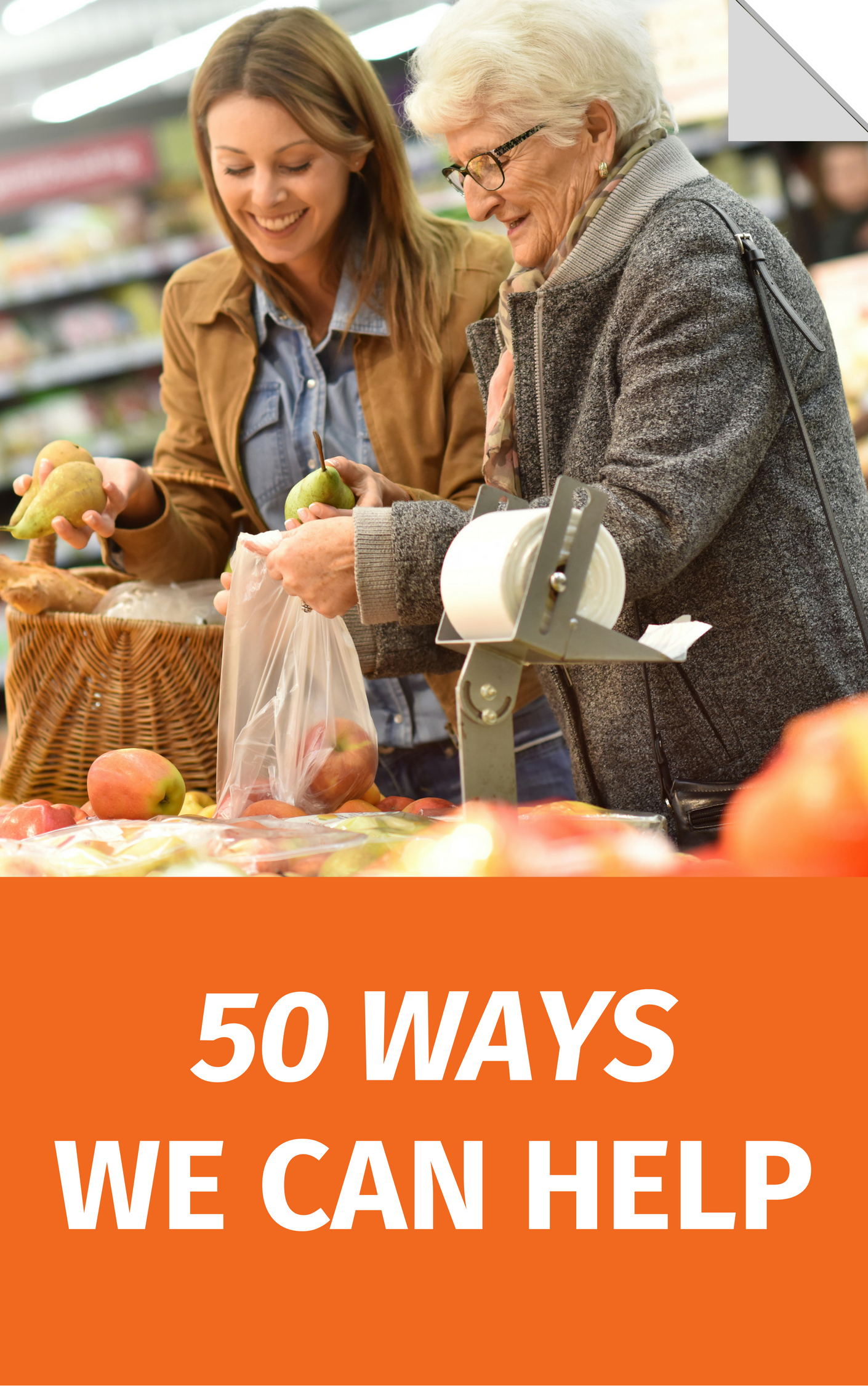 50 Ways We Can Help