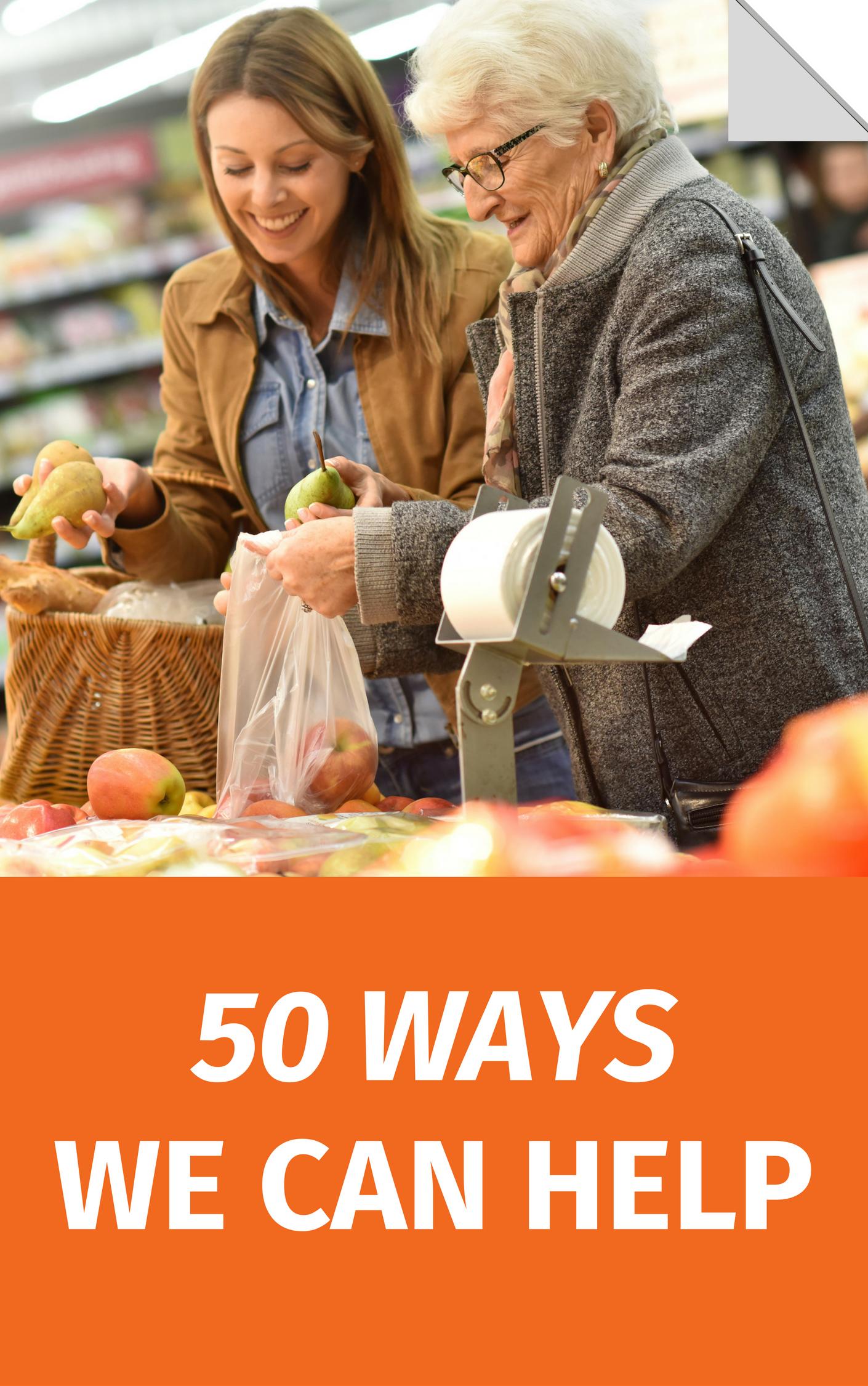 50 ways we can help