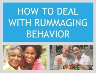 How to Deal With Rummaging Behavior