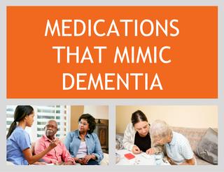Medications That Mimic Dementia