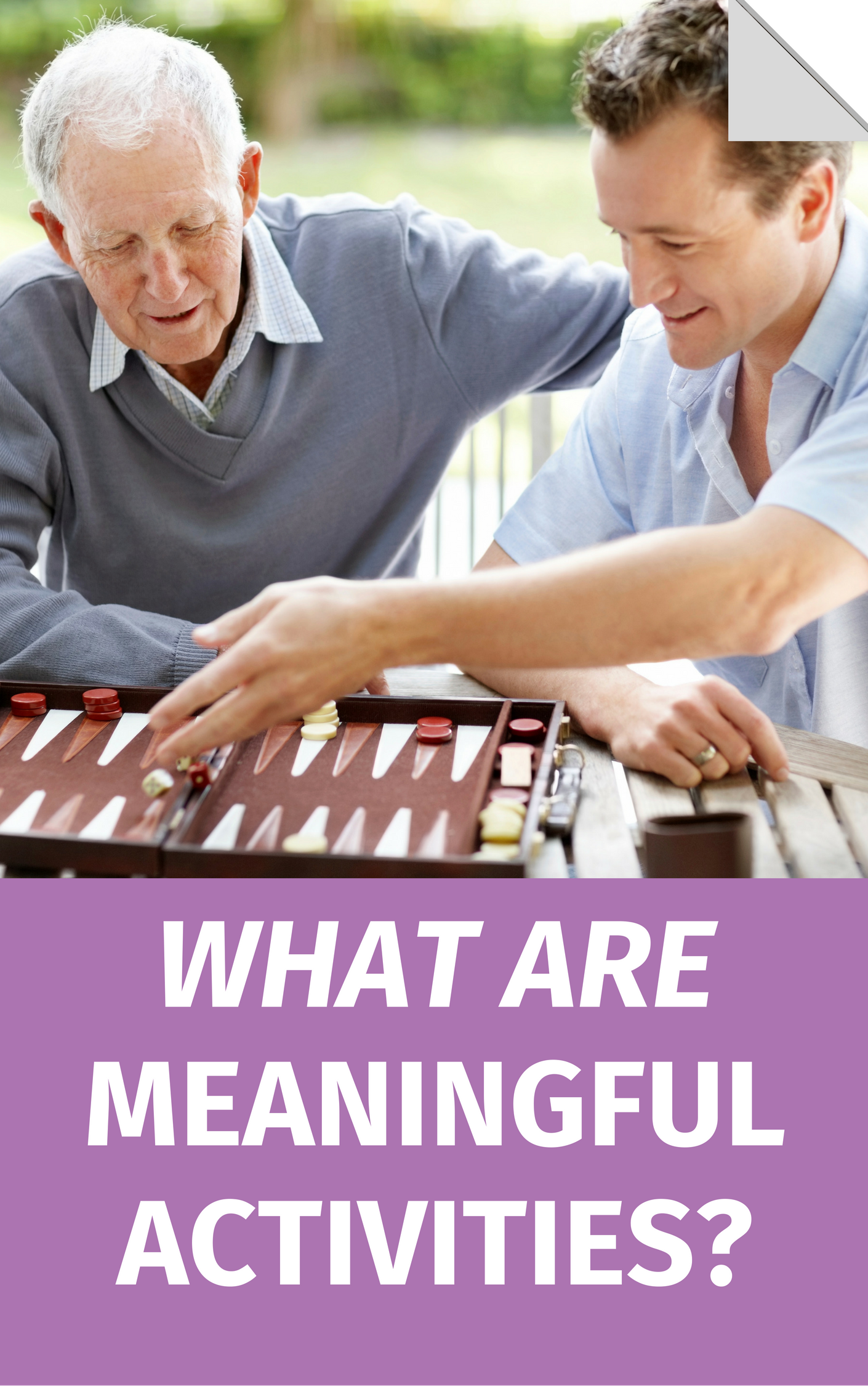 What Are Meaningful Activities