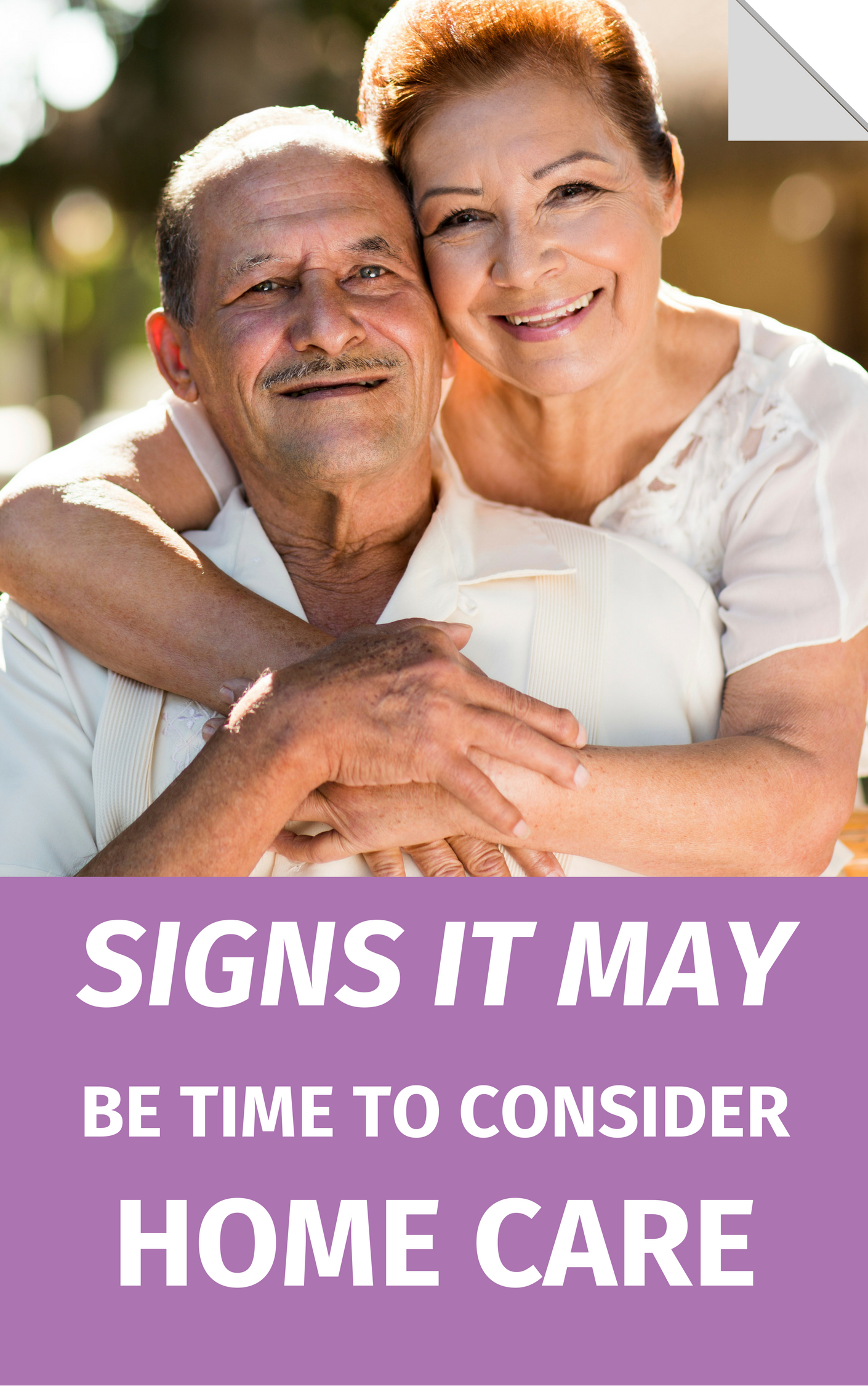 Signs It May Be Time To Consider Home Care